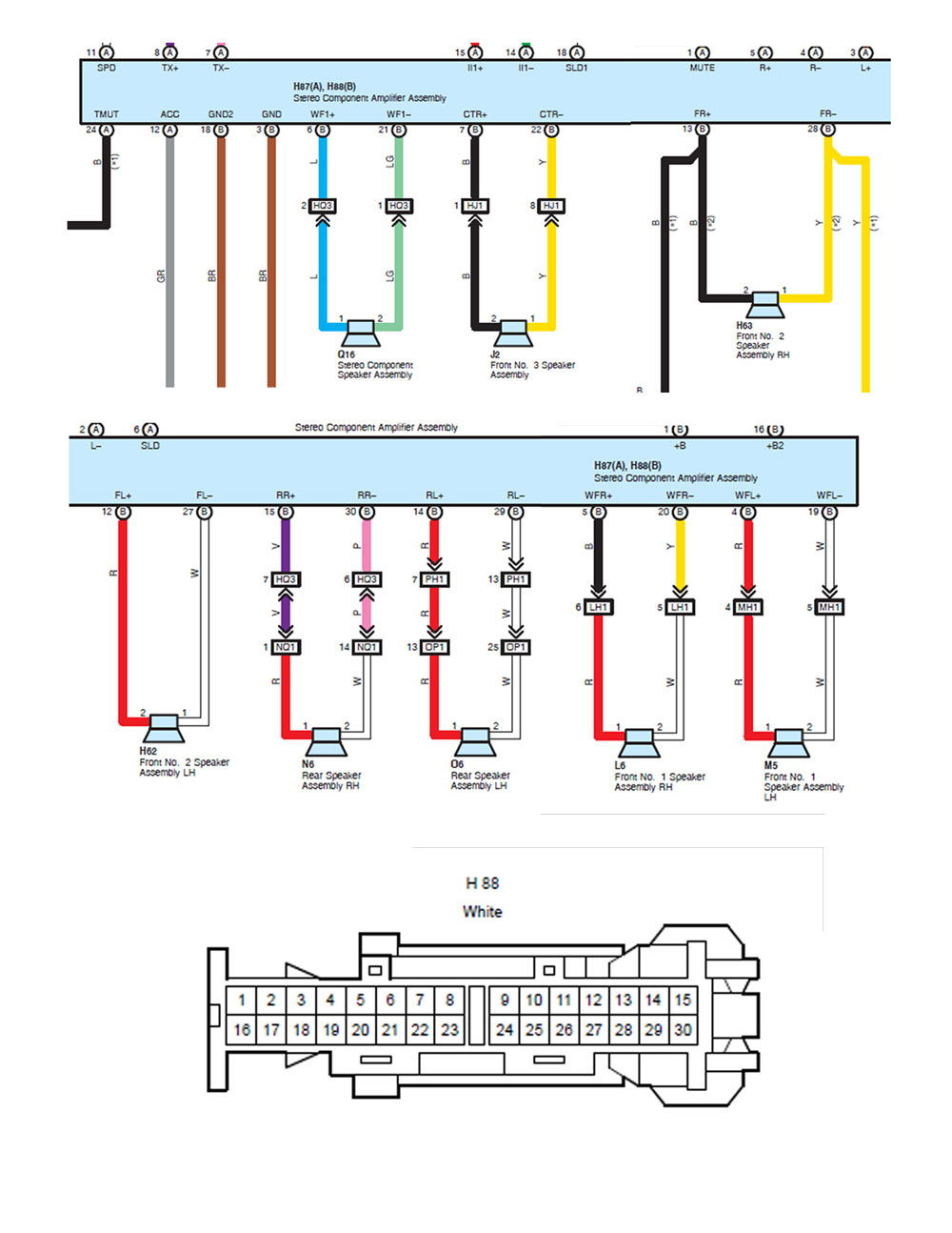 2001 lexus is300 speaker wiring diagram 2001 image stereo upgrade club lexus forums on 2001 lexus is300 speaker wiring diagram