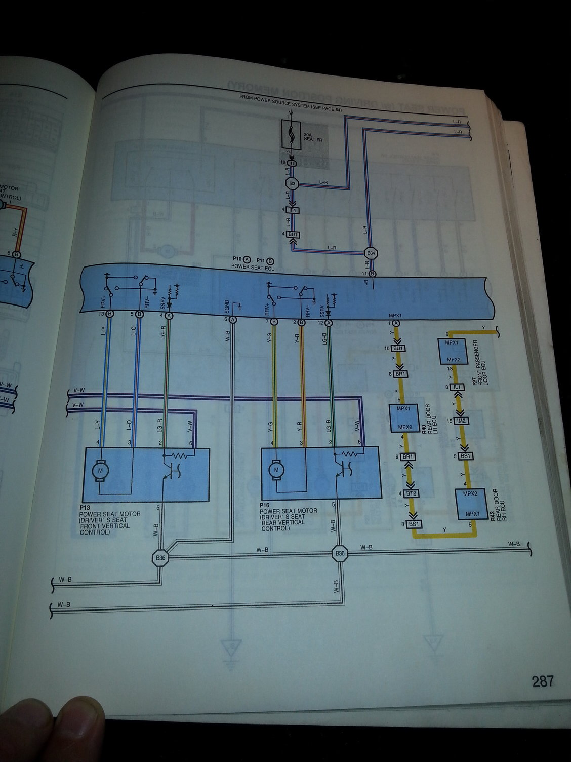 Wiring diagram chart for 1999 LS400....should be similar.to 1997, but  verify.