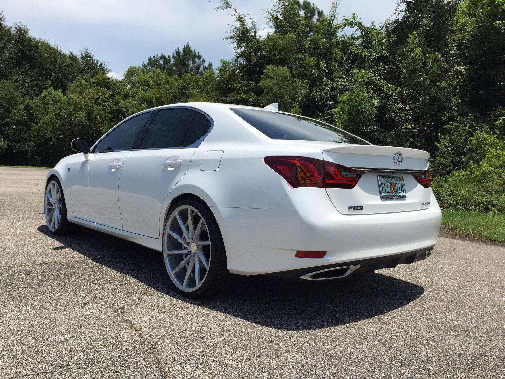Lexus Gs 350 On 22s