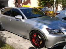 Lexus gs e350 f sport upgrades in progress