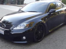2011 Lexus ISF ISS Forged Exhaust Figs Control arms, Pirelli Tires, KW V3 Coilovers, AZA Forged 3 Piece 20's