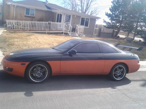 Fresh with new weels and spoiler and paint and turbo oh ya... now for the manual