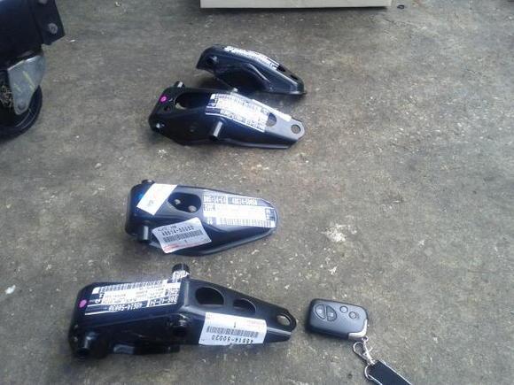 2mm Lexus control arms