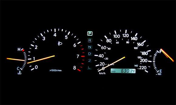 ES300 - odometer