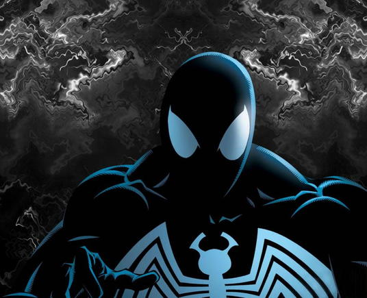 Symbiote Spiderman by Roy Is Azn