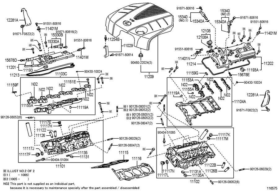 Lexus Gs450h P0016 Code  Check Engine On