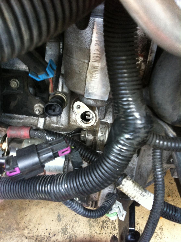 P0335 Crankshaft Position Sensor A Circuit Malfunction Cobalt Ss Chevy Hhr With Removed