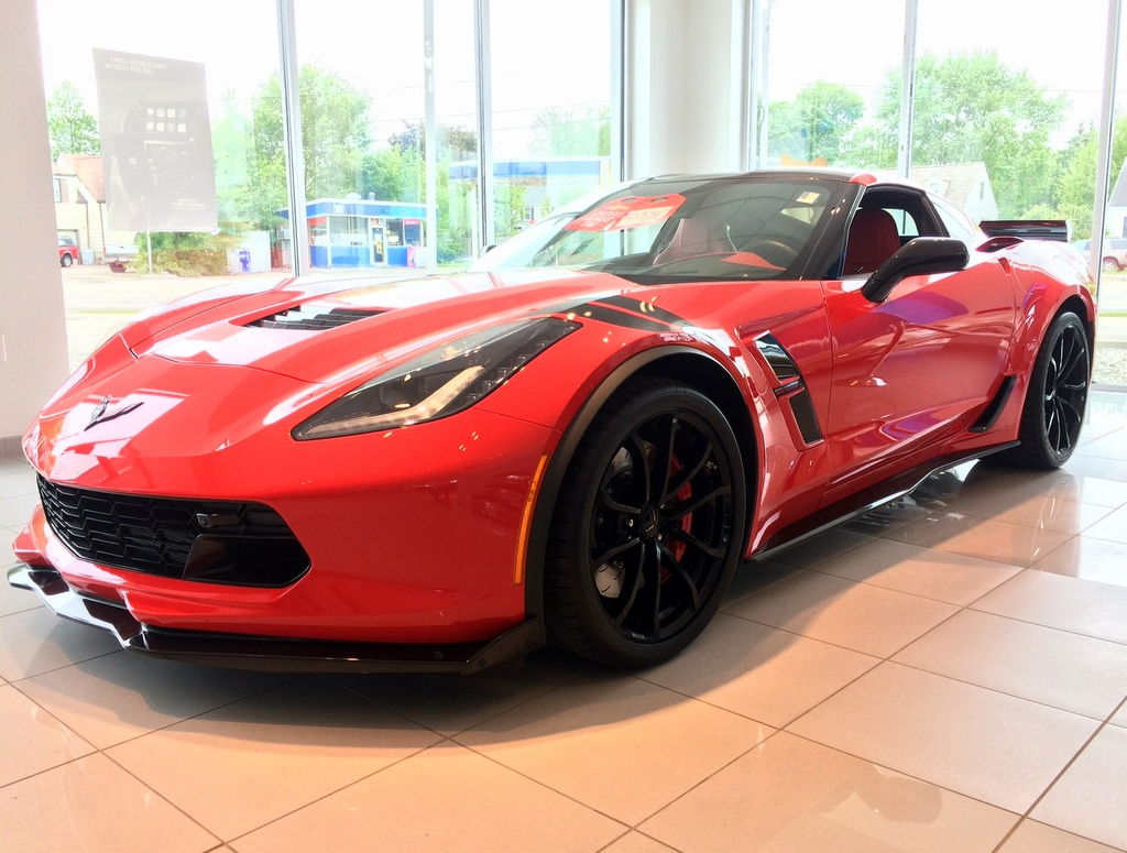 2017 Corvette Grand Sport - 3LT, 7 Speed, Torch Red w ...