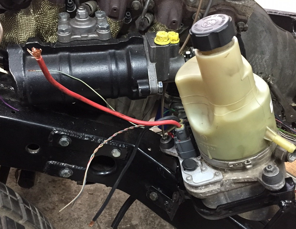 [CSDW_4250]   Borgeson Electric Power Steering - LS1TECH - Camaro and Firebird Forum  Discussion | Volvo Power Steering Pump Wiring Diagram |  | LS1Tech.com
