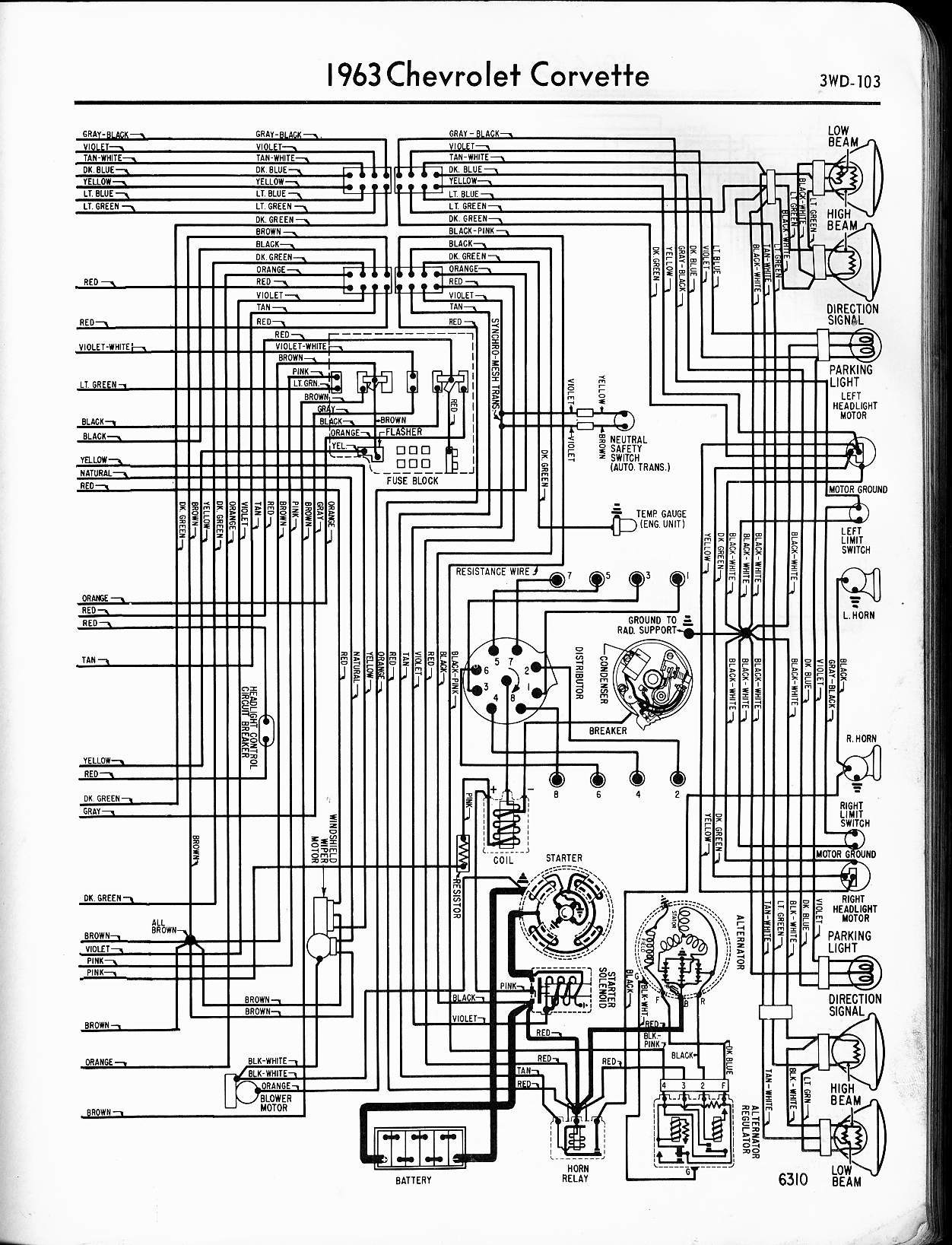 1963 corvette ac wiring diagram 1963 corvette headlight wiring diagram