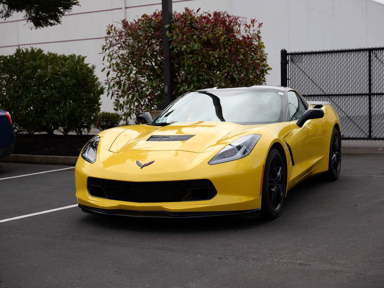 for sale 2016 corvette stingray c7 yellow black 7 500 miles oregon corvetteforum chevrolet. Black Bedroom Furniture Sets. Home Design Ideas