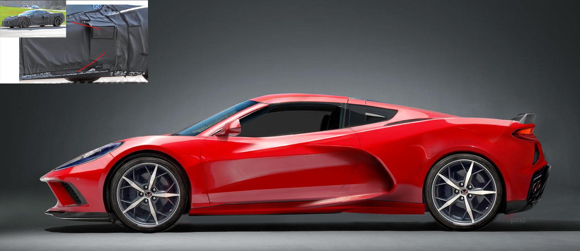 2020 C8 - Mid Engine Corvette - best guess renderings ...