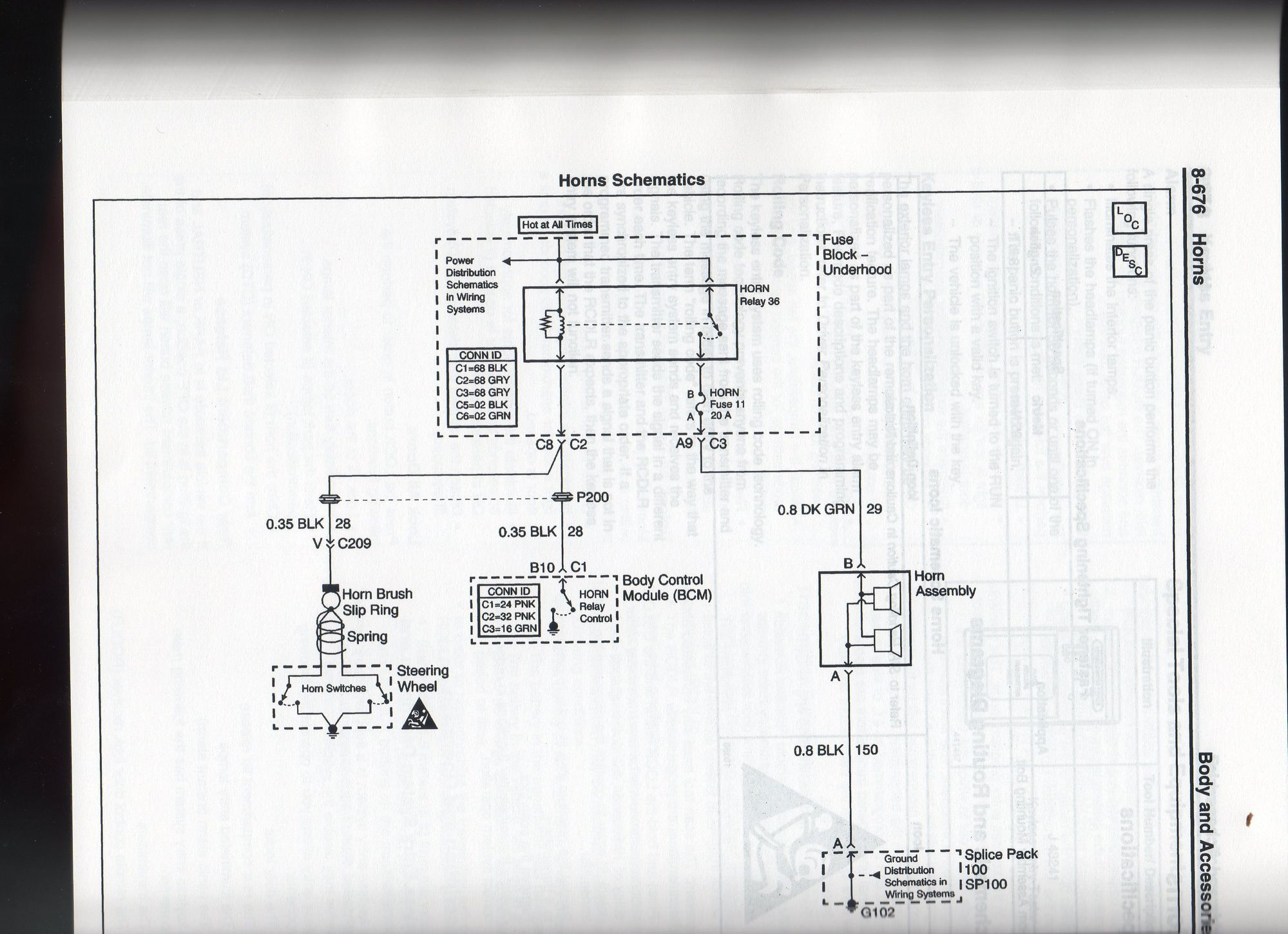 C5 Corvette Wiring Diagram Vehicle Diagrams