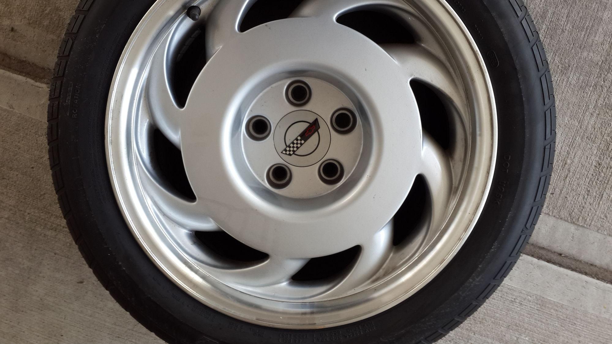 Zr1 rims and tires for sale - CorvetteForum - Chevrolet ...