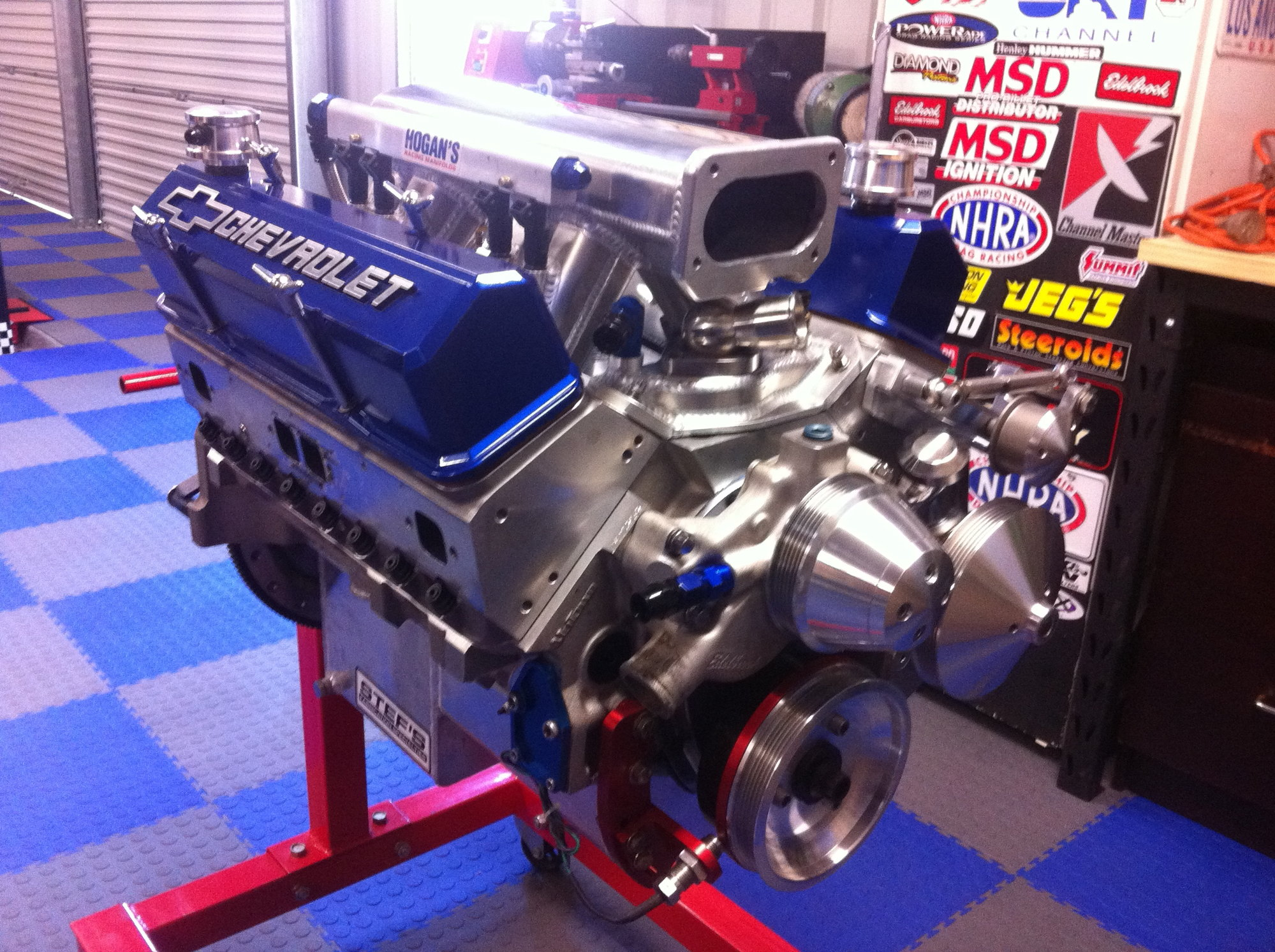 Tuned Port style EFI w/ conventional sbc heads
