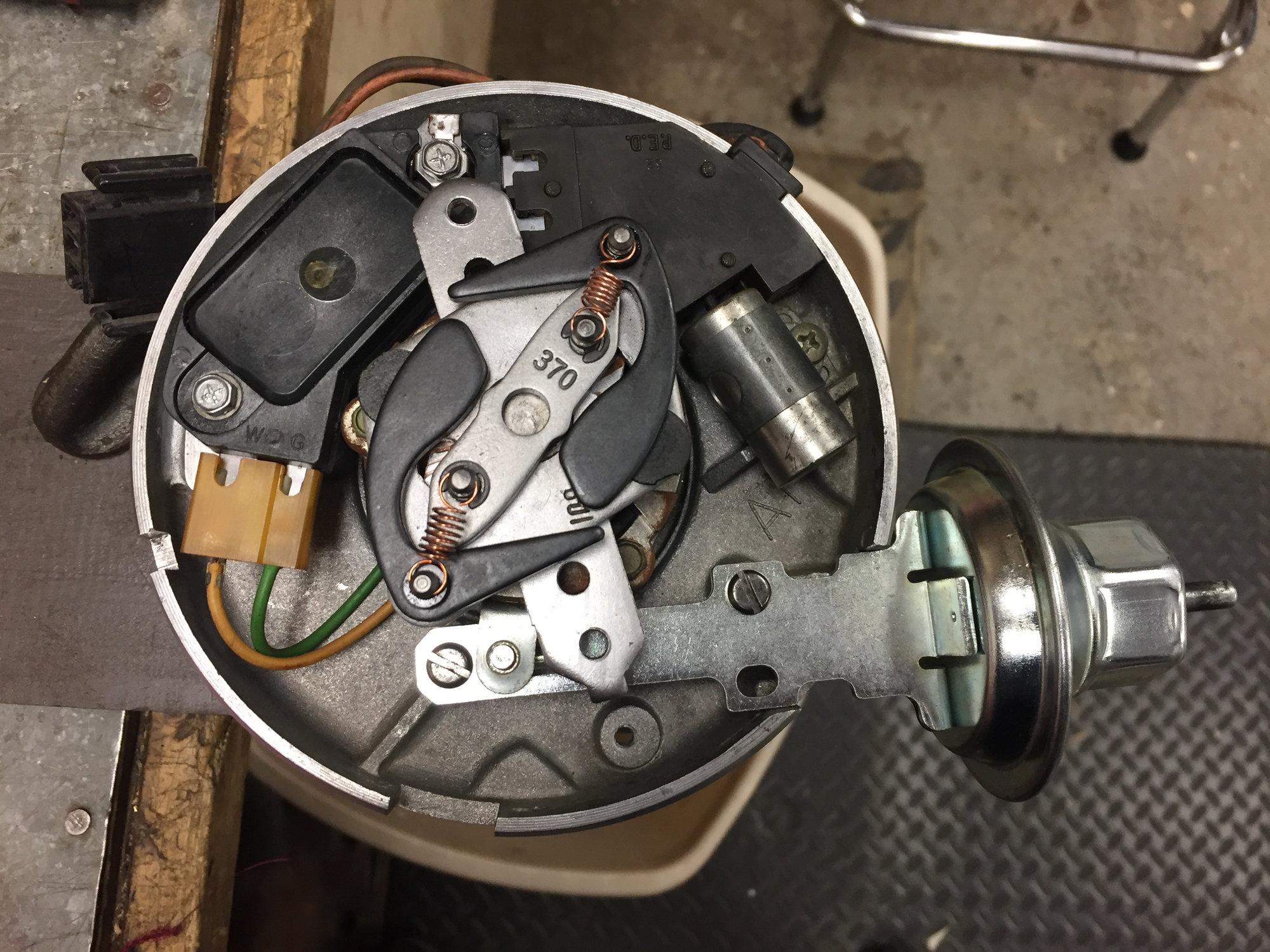 Mr Gasket 927G Distributor Mechanical Advance Curve Kit