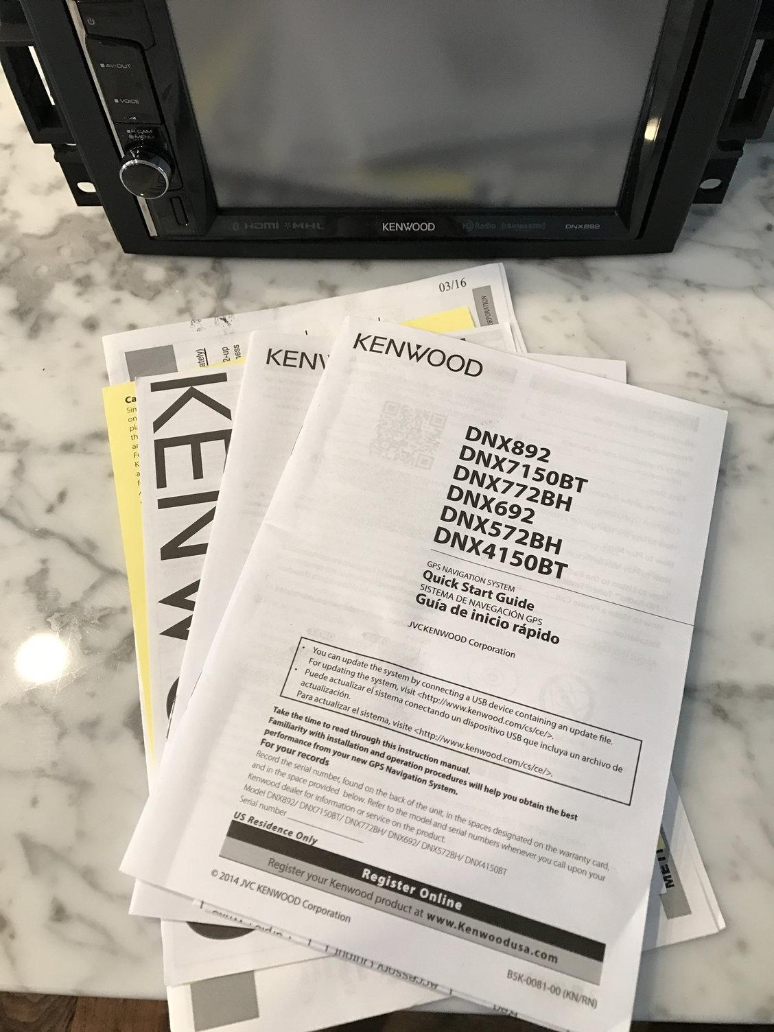 FS: Kenwood DNX692 w/Sirius and wiring harness - CorvetteForum ... on