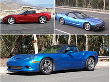 3 of my 4 Vettes have been verts.  Looking for a C6 vert thread.