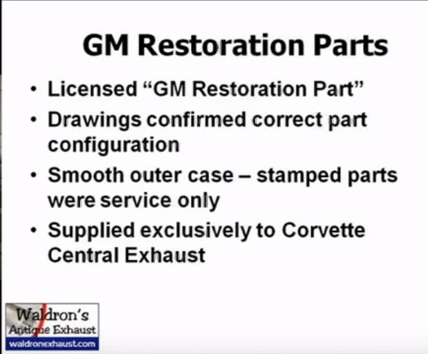 gm restoration parts corvette