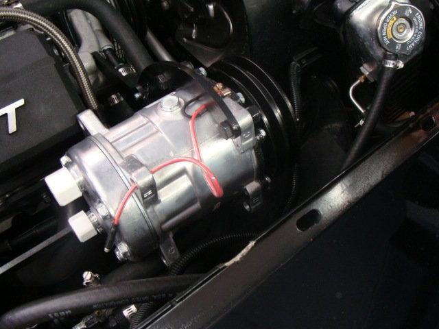 rear or normal exit Sanden 508 compressor upgrade