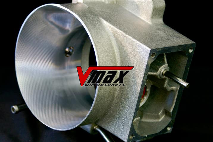 V-max cnc ported throttle body - ls1 & ls6 in stock at