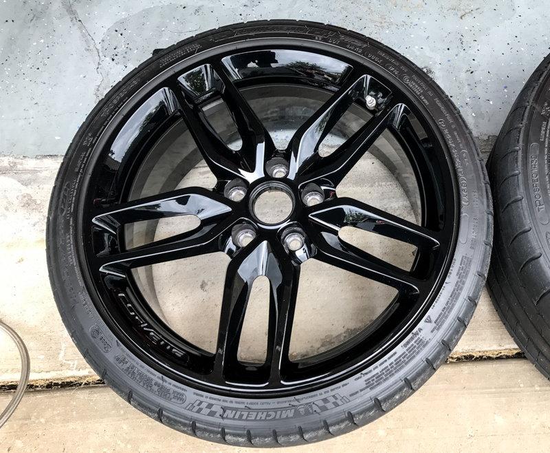 Fs For Sale Oem 2015 Z51 Black Rims And Tires For Sale