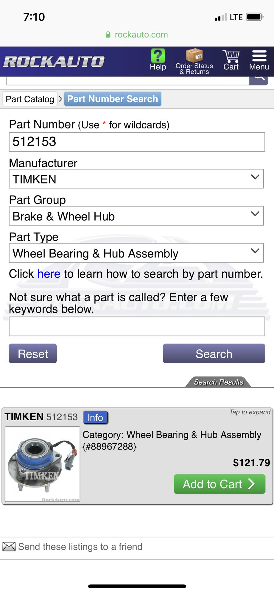 Learn From My Misfortune: Garbage Timken Wheel Bearing
