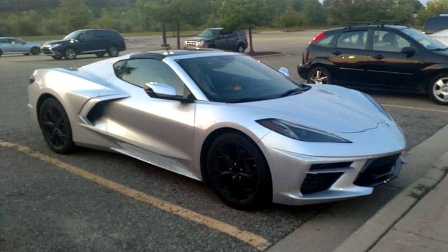 No Body Color Sides On 2020 Corvette Transparent Roof