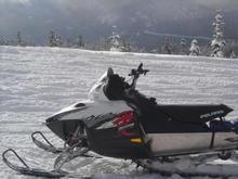 new 800 dragon/rmk snowmobile