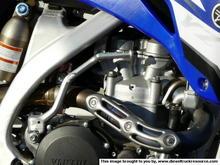 yz450 motor titanium head pipe