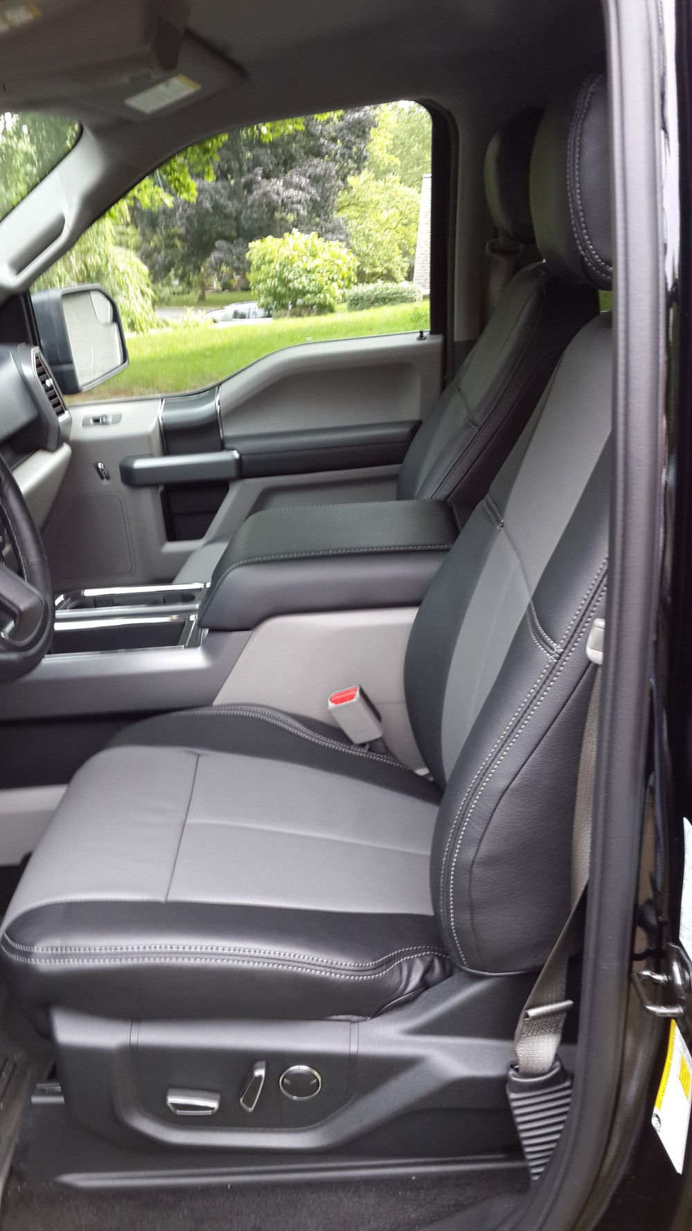 pictures of clazzio seat covers installed ford f150. Black Bedroom Furniture Sets. Home Design Ideas