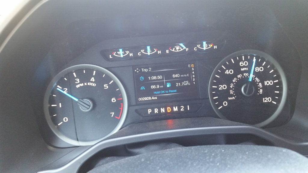 Really good gas mileage from 5.0L w/3.73 - Ford F150 Forum ...