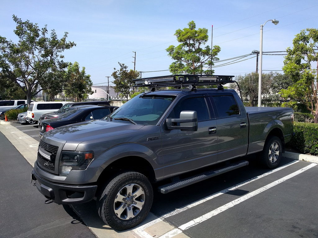 roof racks ford f150 forum community of ford truck fans. Black Bedroom Furniture Sets. Home Design Ideas