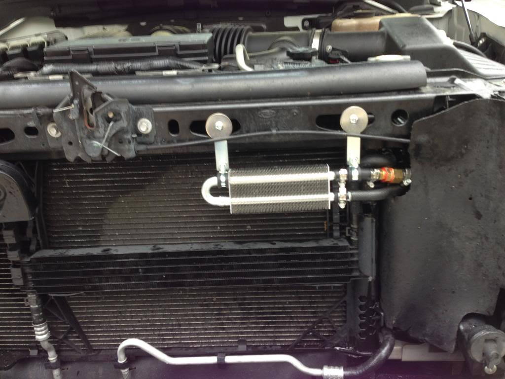 Power Steering Cooler Condenser Leak Bypass Aux Cooler