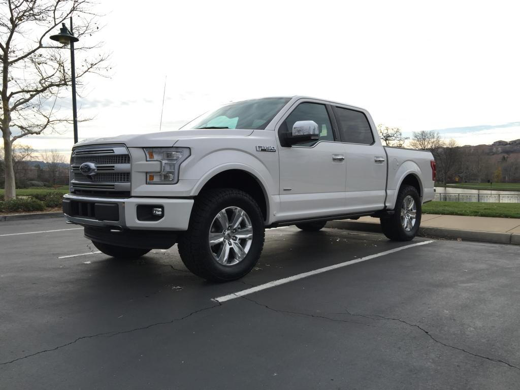 My bds 2 5 leveled 35x12 50 2015 platinum ford f150 forum community of ford truck fans