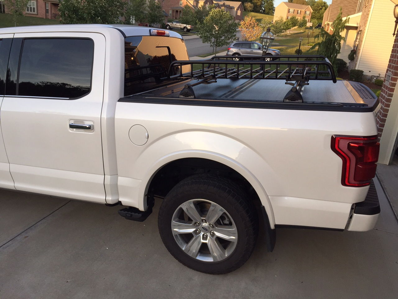 Ford F150 Rack >> Cargo Rack on top of bed - Ford F150 Forum - Community of ...