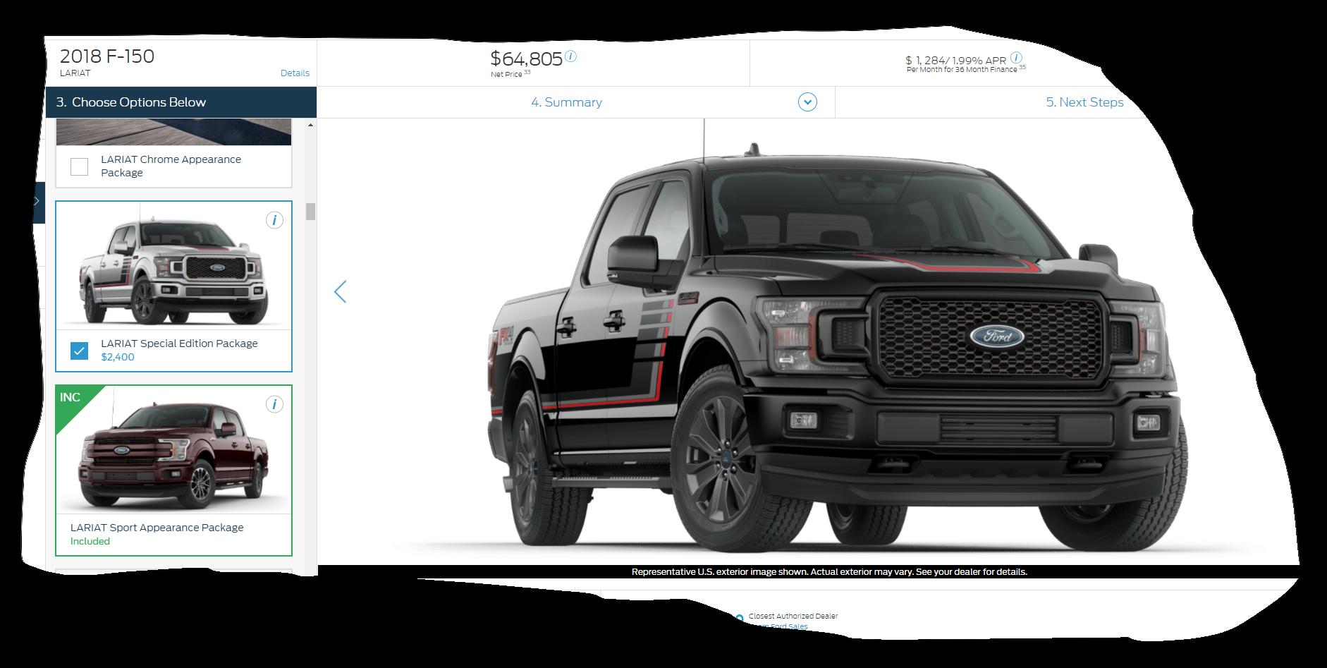 Ford Com Build F