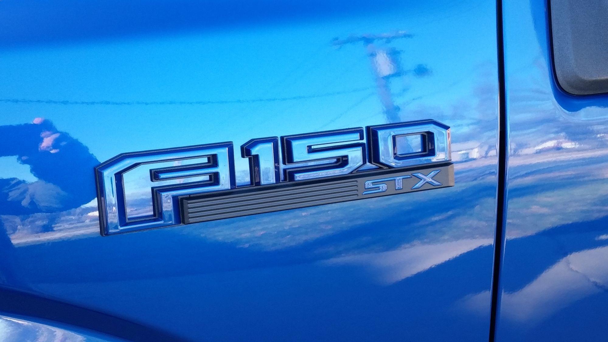 Custom Ford F150 Emblems >> Looking for red/black fender emblem for STX - Ford F150 ...