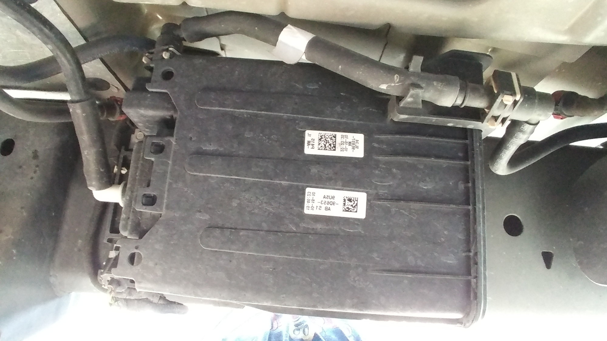 2010 F150 Fuel Filter Ford Forum Community Of Truck Fans Replacement There Is A Big Rectangle Black Box On The Frame Where Usually Any Clue This Inline Filer And What