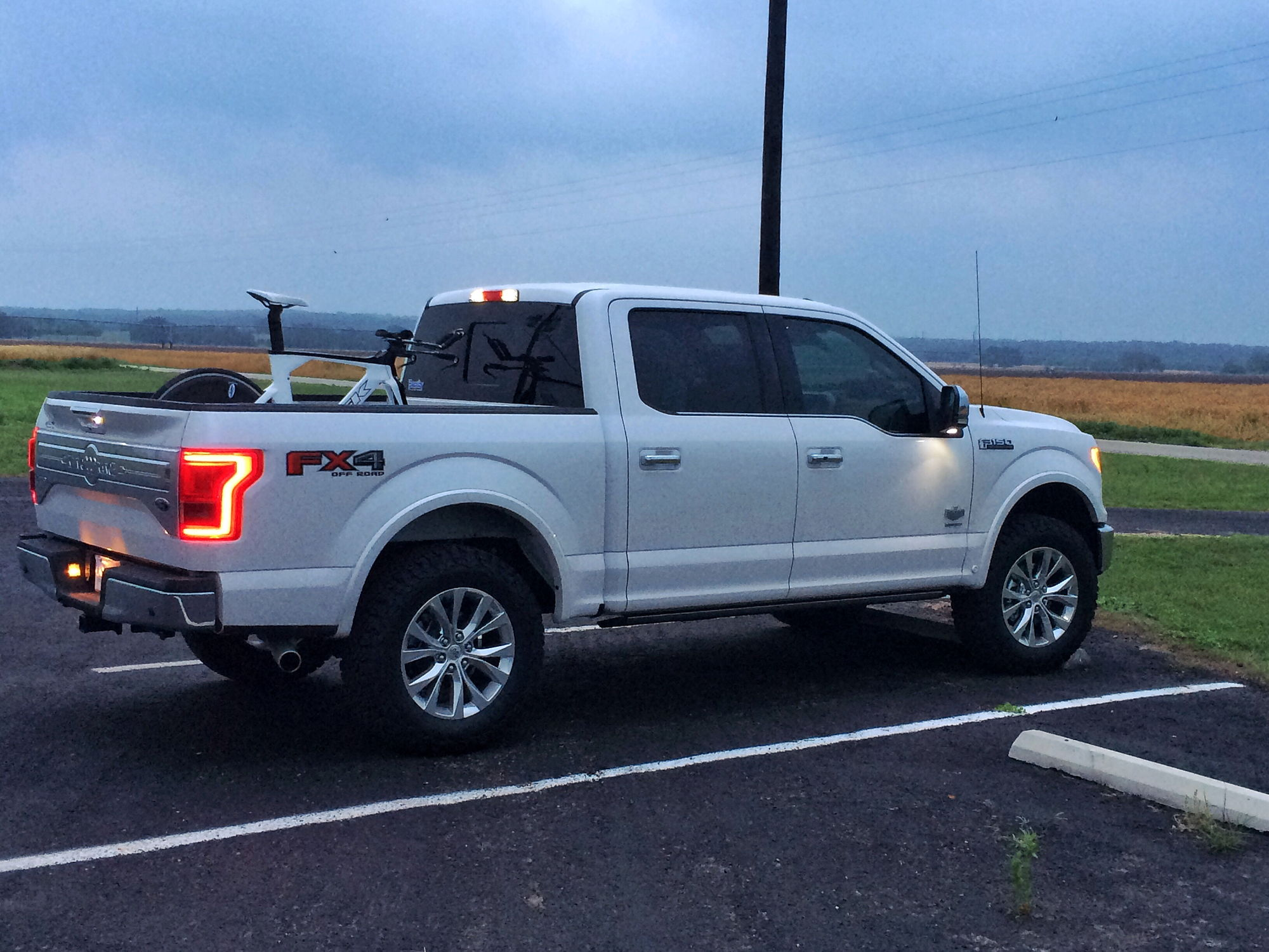 My 2 5 Leveled W 35s King Ranch Page 4 Ford F150