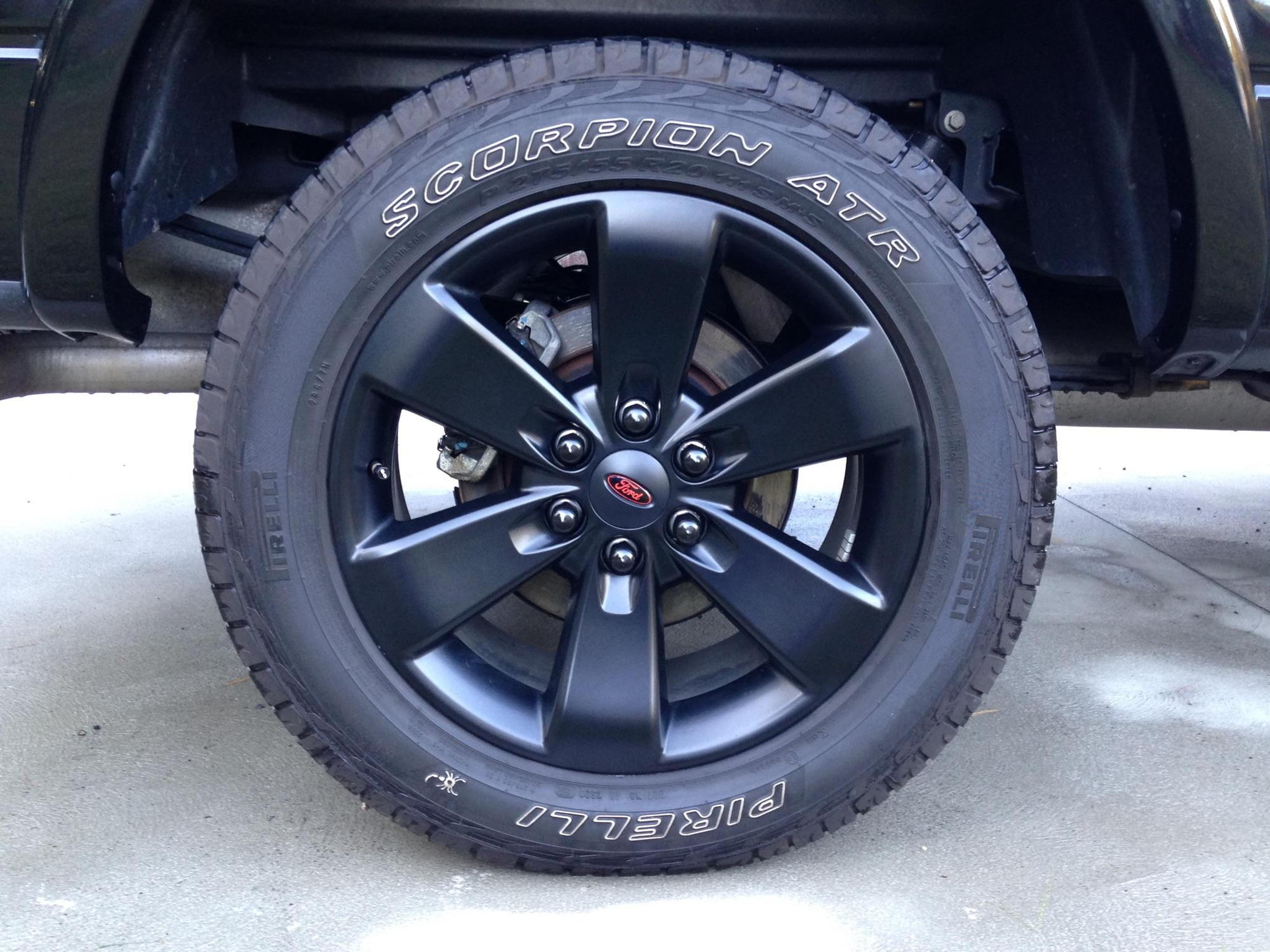 Where Can I Find Emblem Overlay For Fx4 Wheels For 2014