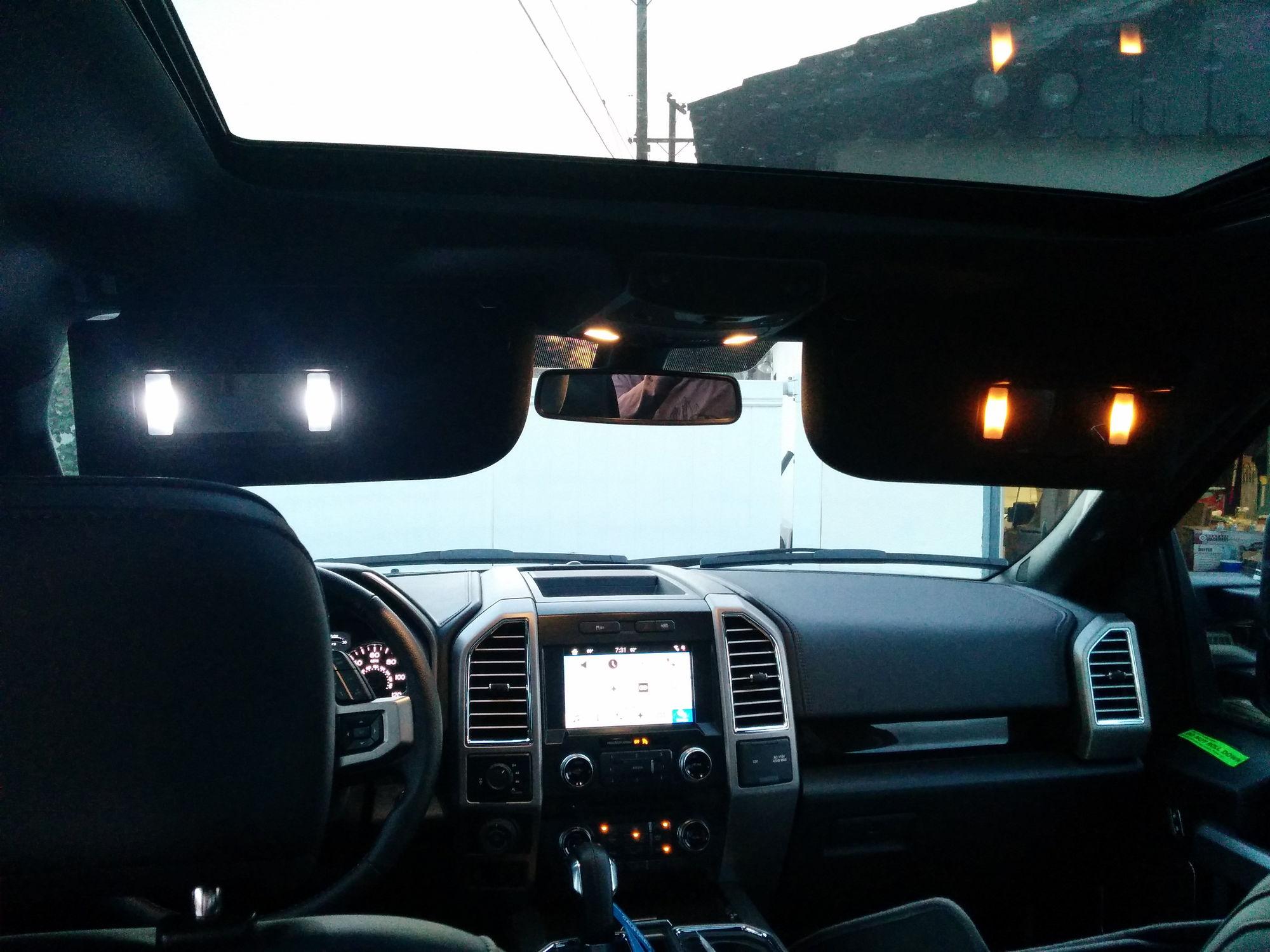 Sun Visor Led Upgrade Ford F150 Forum Community Of