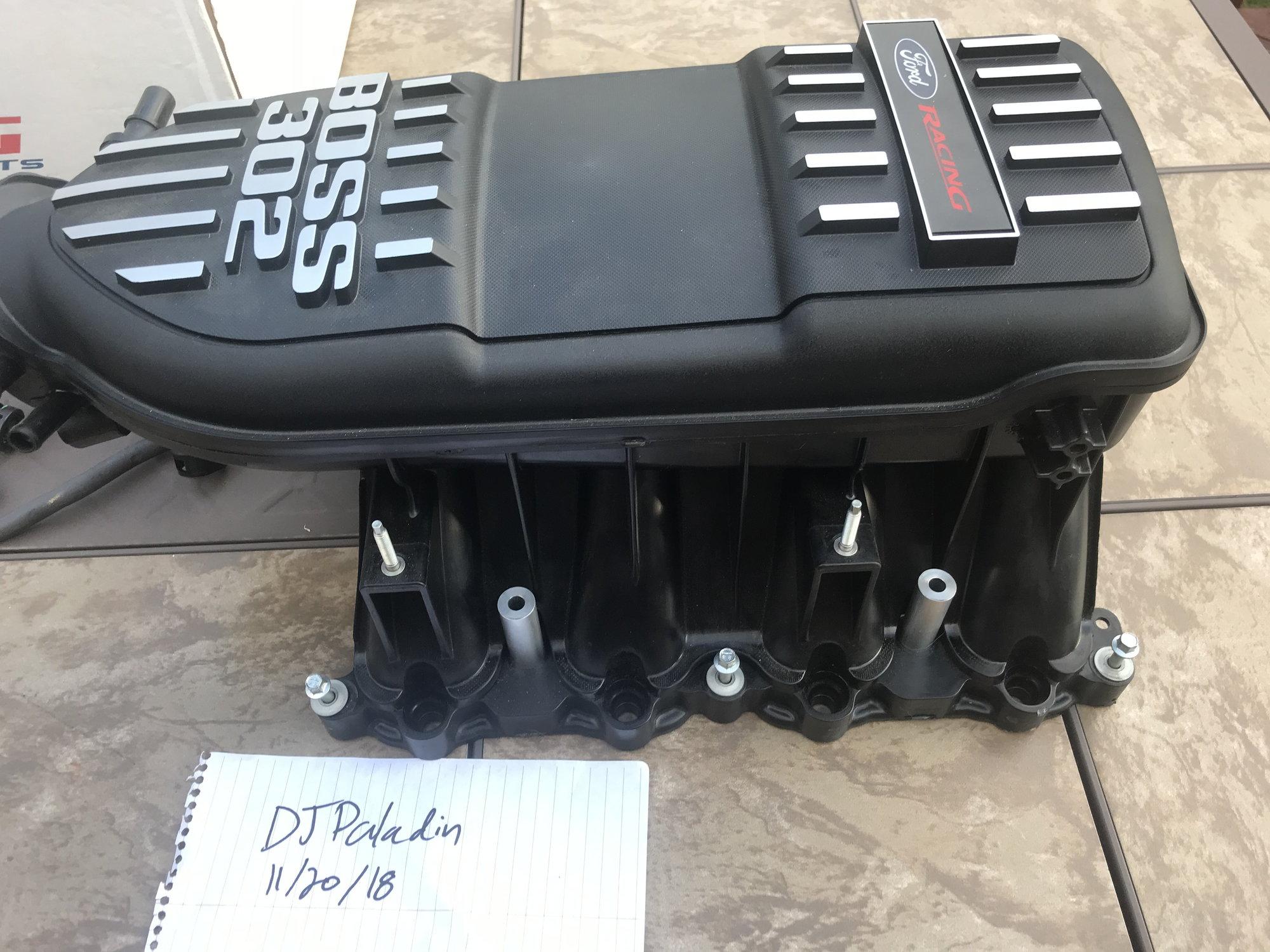 Boss 302 Intake Manifold >> Northeast Boss 302 Intake Manifold And Extras Ford F150 Forum