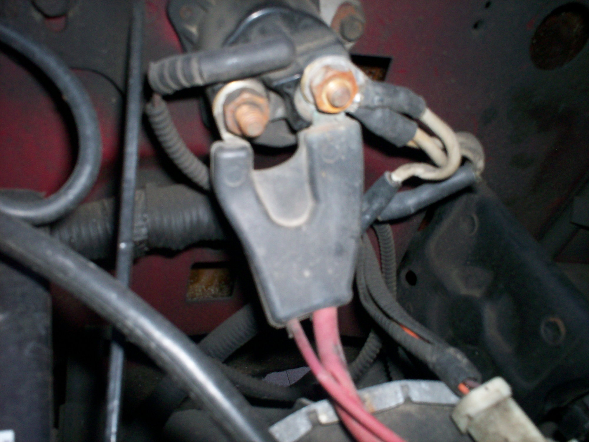 Picture of a fender mount solenoid (95) - Ford F150 Forum - Community of  Ford Truck Fans | Ford F150 Solenoid Wiring |  | Ford F150 Forum