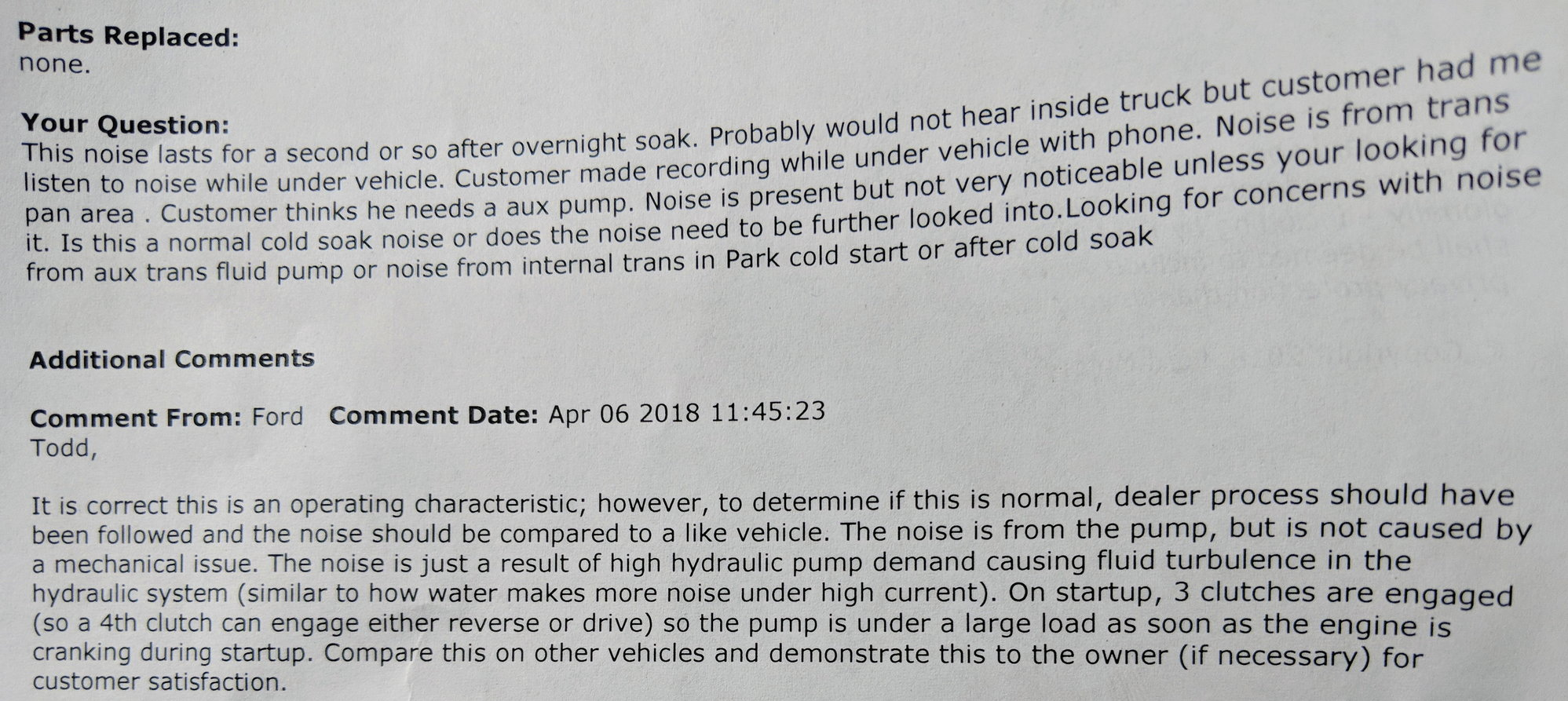 2017 10-Speed Transmission Noise Poll - Page 11 - Ford F150