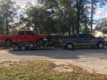 when the stroker fails its up to the f150 to save the day....
