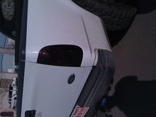 my kinda black tail lights