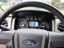 Interior Driver Cockpit Gauge Display