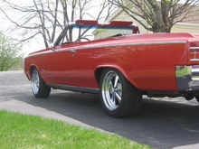 "Our 64 Cutlass, 462 (455) olds powered, Tremec 5 Speed, 17"" Cragars"