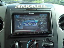 the new pioneer in-dash dvd. new addition